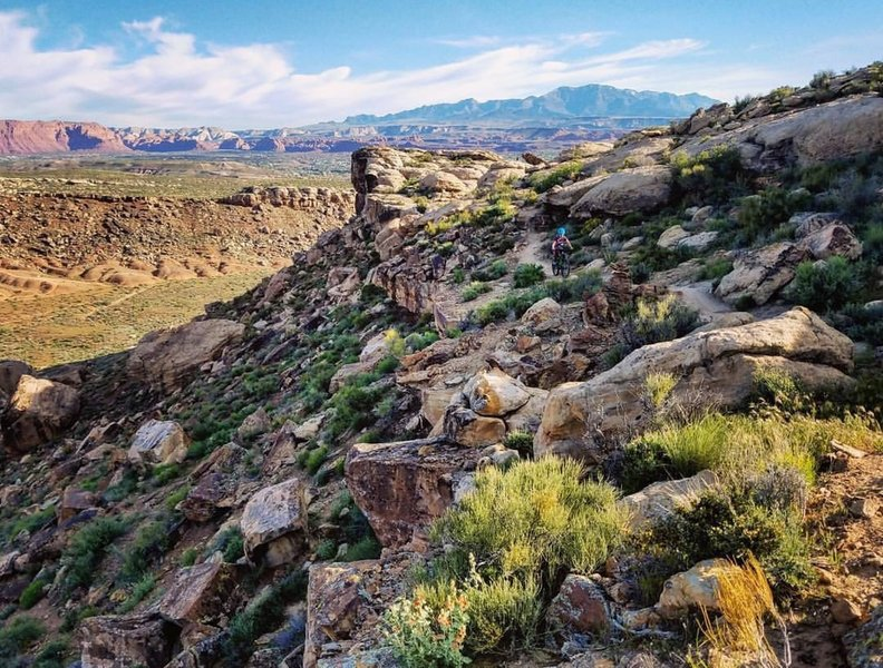 Zen Trail fuses technical riding with great views.