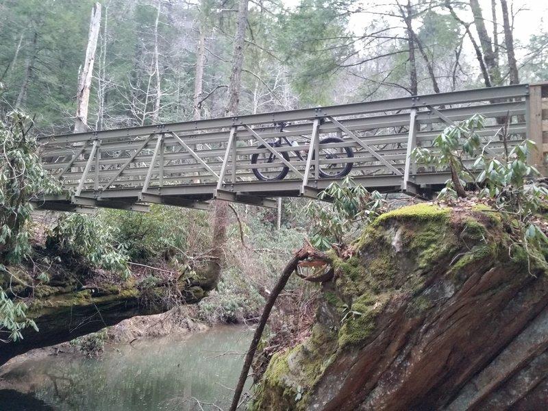 Bark Camp Creek Bridge.