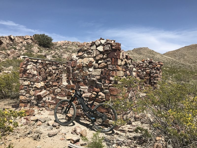 One of a number of ruins that dot the area.