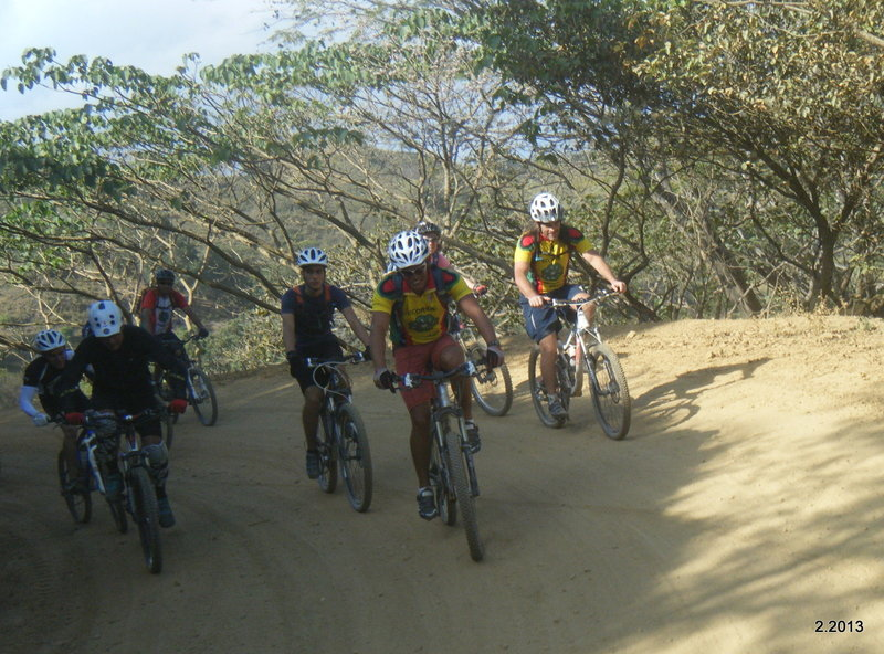 A great group ride on the PV to San Pedro ride.