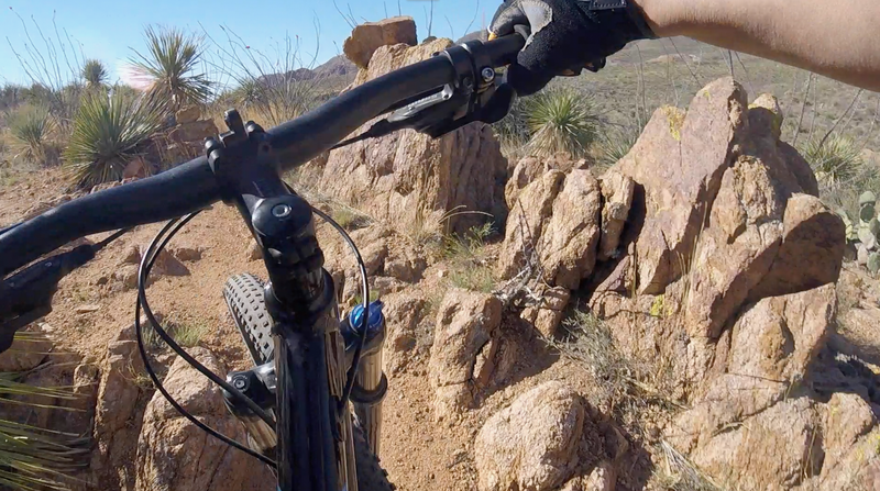 The Mule Shoe Loop will challenge your technical climbing skills.