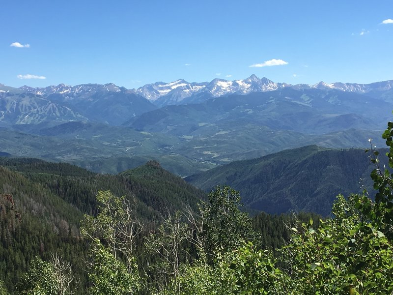 The views of the Elk Range make Arbaney Kittle one of the most epic rides in Colorado!