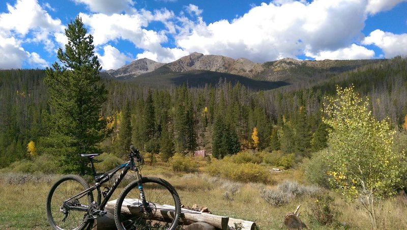 Peaks Trail, somewhere between Breck and Frisco.