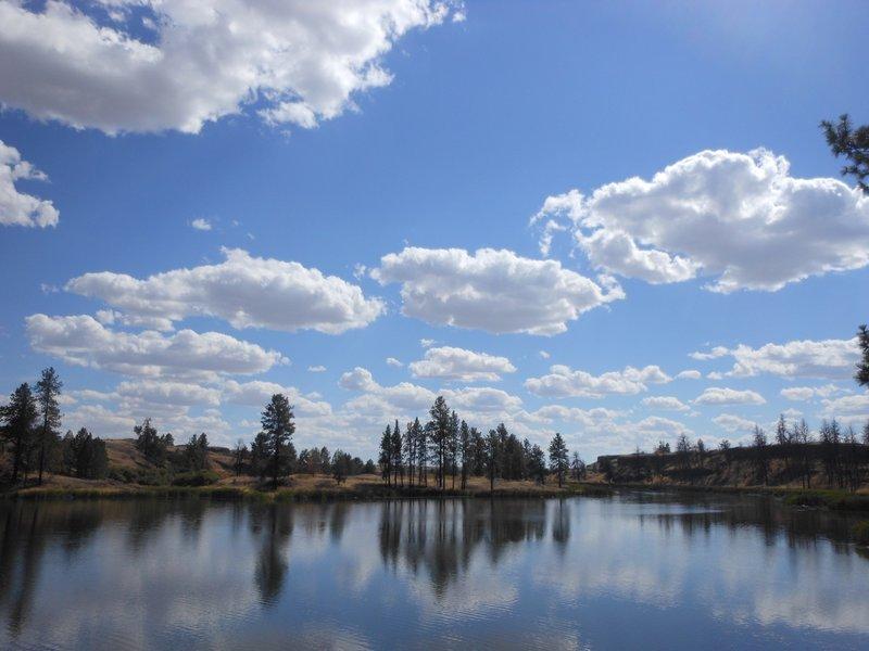 The south end of Fishtrap Lake