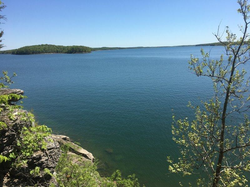 View of Stockton Lake.