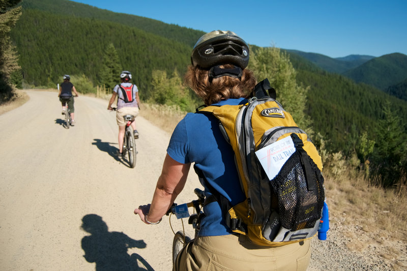 The Trail of the Hiawatha is an easy ride for the whole family.