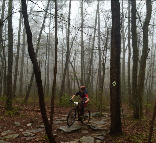 Slick conditions during the the 2016 Michuax Maximus Race.