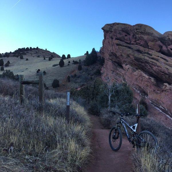 Red Rocks Trail Scenery.