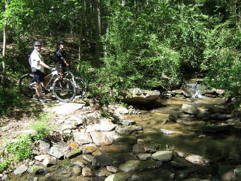 Duck River creek crossing.
