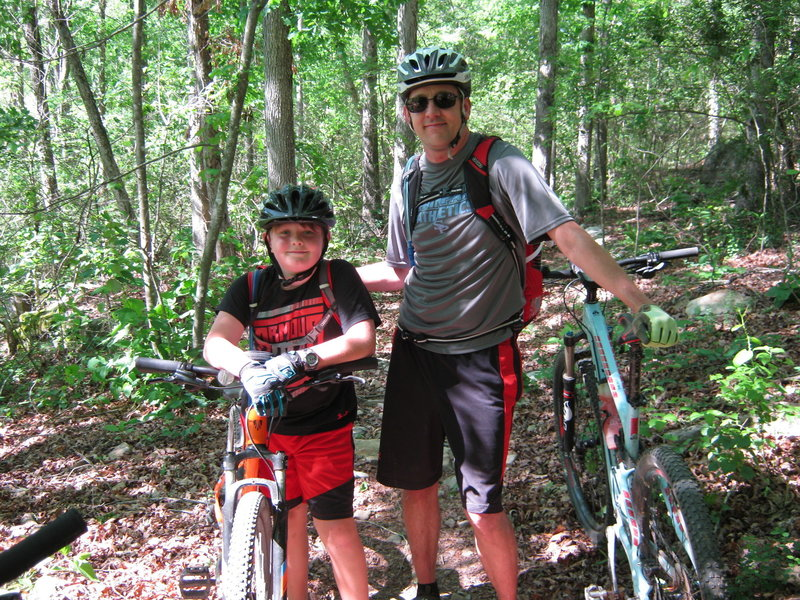 An excellent trail system for young hard-chargers.