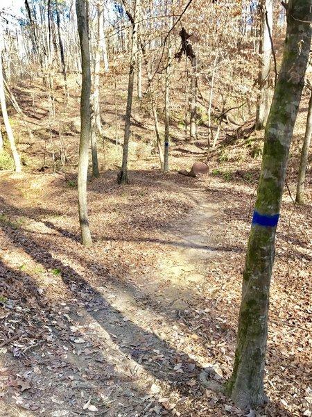 "The trail's names sake ""Rusty Barrel."""
