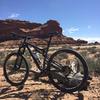 Desert scenery on the Navajo Rocks Chaco Loop.