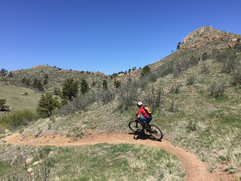 Get out and rip the berms at Curt Gowdy.