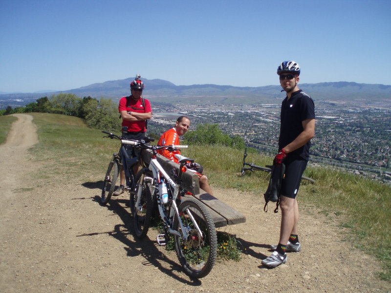 A great viewpoint on the Ridgeline Trail.