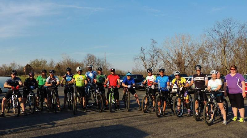 Weekly group rides leave from the Smoke N Davey trailhead every Wednesday evening.