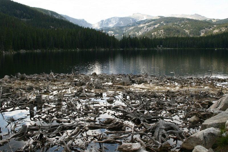 Cross Creek Reservoir.