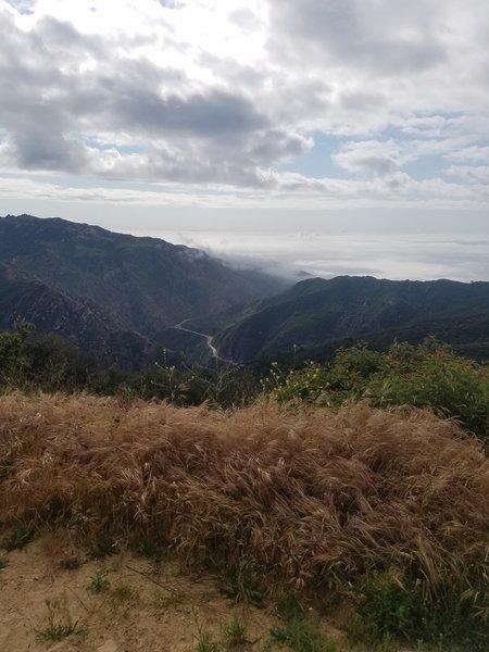 Views from Mesa Peak Motorway/Backbone Trail.