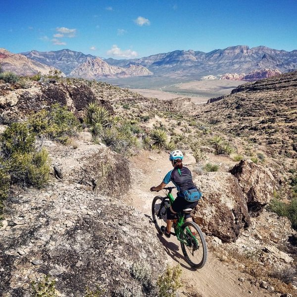 The Fossil Trail is challenging, but the scenic views are quite rewarding.