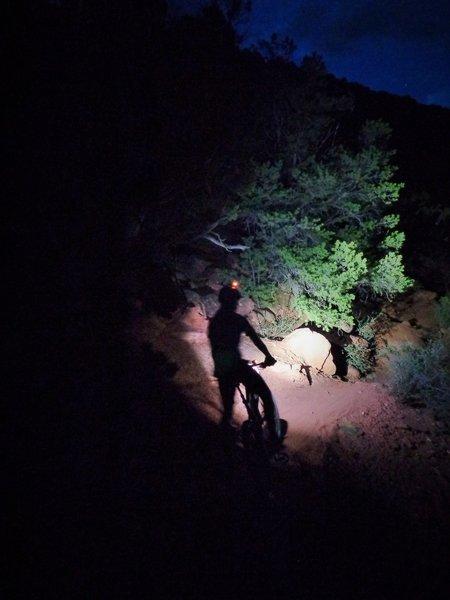 Night ride on the Elk Traverse!