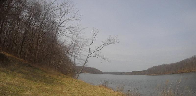 Piney Run Lake.