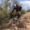 Shredding the trails at McDowell Mountain Regional Park 2017-03-31