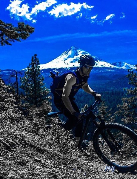 Climbing up is a bit grueling, but riding back down Dog River is worth the out and back.