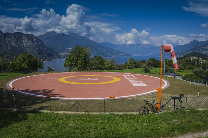 Eschew your helicopter for the day and take the mountain bike to Bellagio instead!