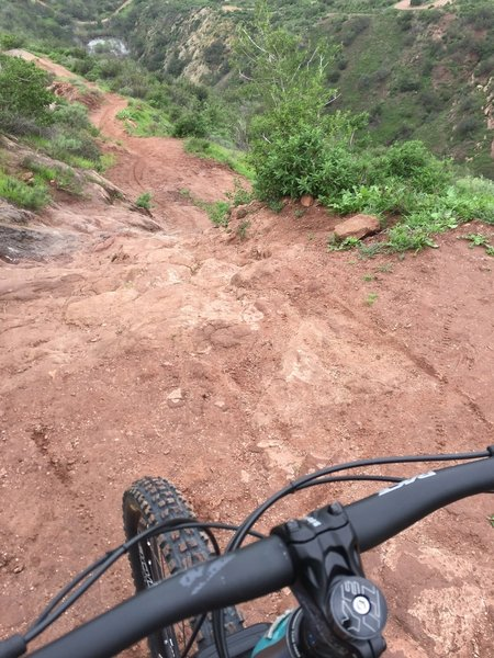 One of the steeper sections on Grasshopper.