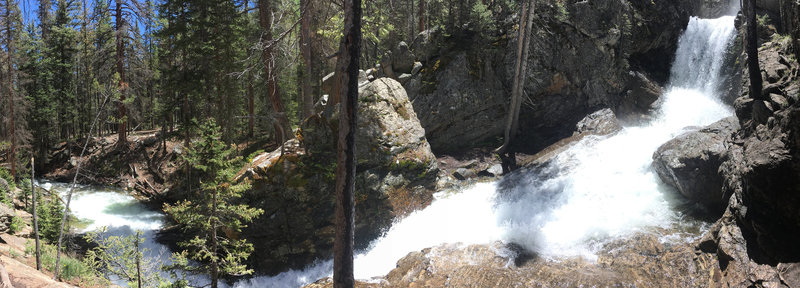 Browns Creek Falls pano