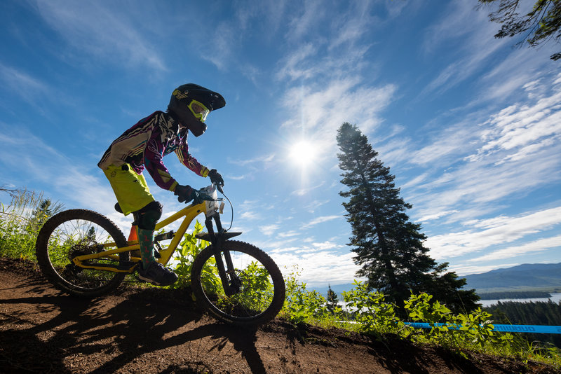Ripping singletrack, great dirt, and sunshine are what it's all about.