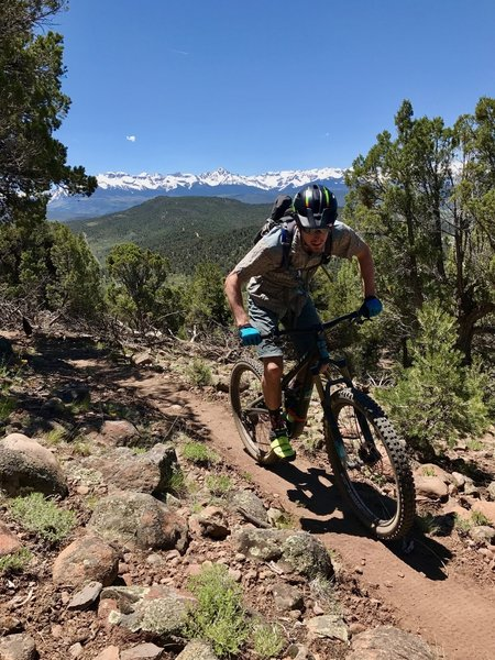 The views and riding won't disappoint!