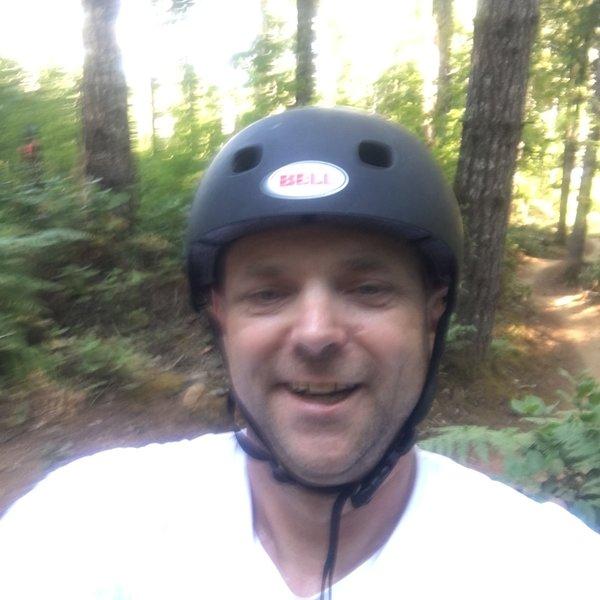 I love riding Alsea falls Oregon