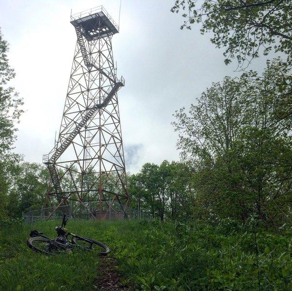 Holston Mountain Fire Tower.