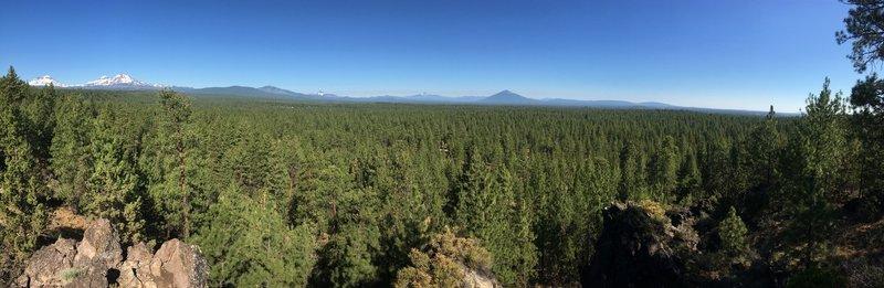 Panoramic View from Peterson Ridge Overlook!