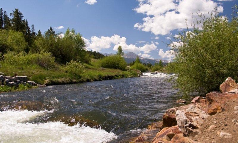 Blue River.
