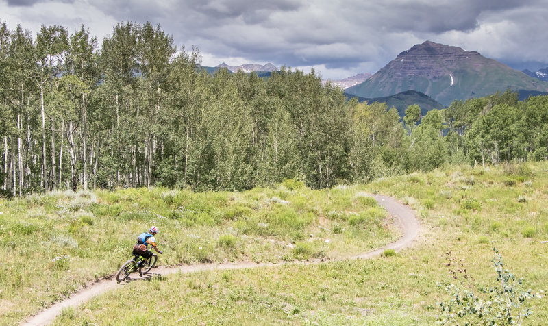 The singletrack on Strand Hill is truly amazing - a must ride in CB!