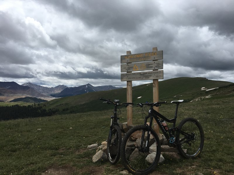 12000 ft Kokomo Pass