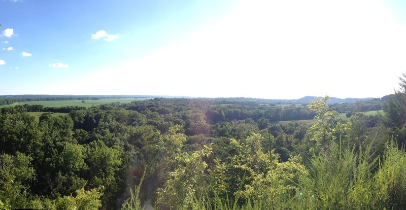 A great view of the plains