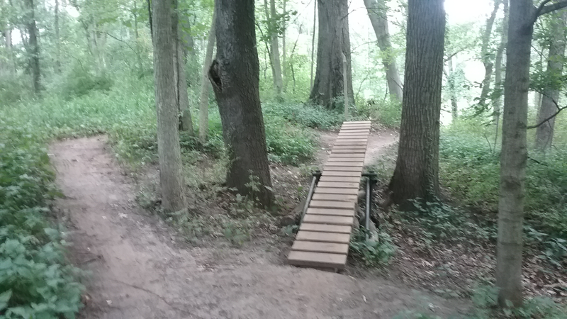 The optional teeter-totter on the Blazing Star Loop.