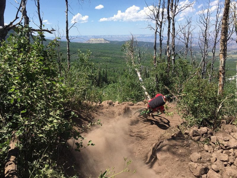 Ripping Blue Ribbon with Great Views of the Colorado Plateau.