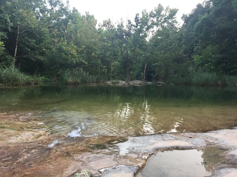 Swimming hole on Spicewood Canyon Trail - good place to wash the trail dirt off!