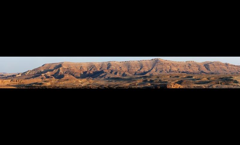 Makhtesh Ramon - south cliff.