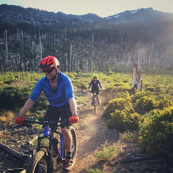 The Gunmount Trail.