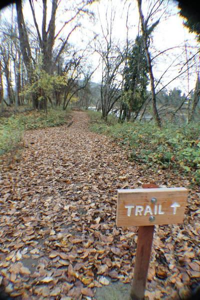 Trail sign along the Joseph Micelli Trail