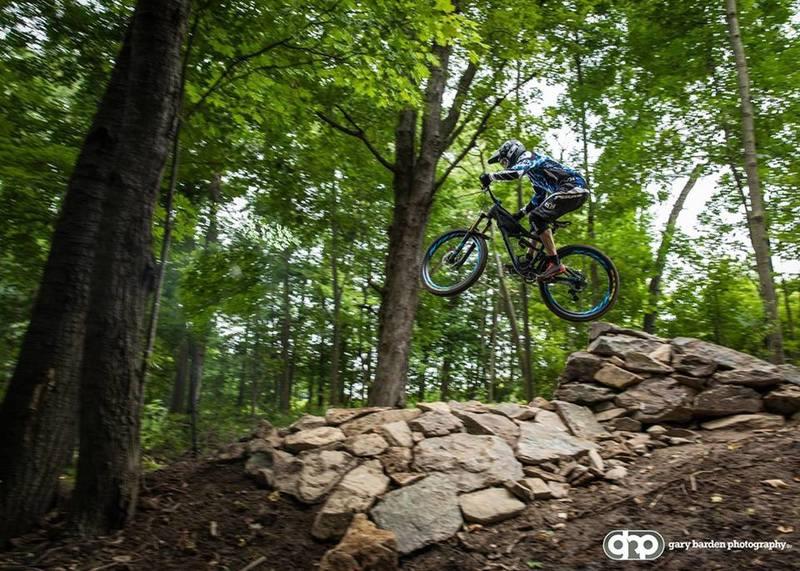 Twisted Oak entry jump