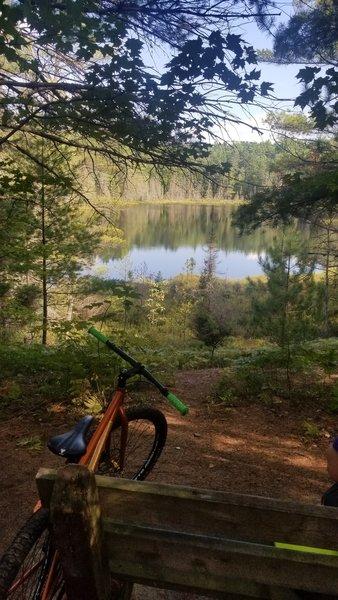 Beautiful scenery along the trail