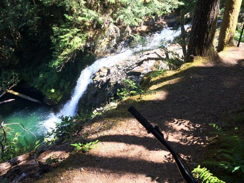 Upper Falls on Siouxon Creek.