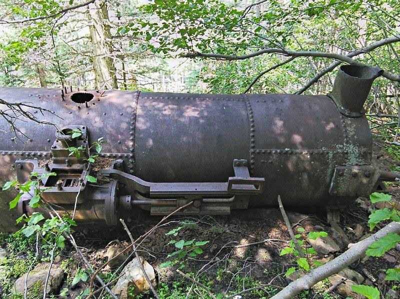 Boiler side view