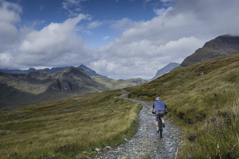 The descent from Am Mam Pass into Camasunary on the Atlantic Ocean with the Cuillin Hills as the backdrop is simply magnificent.