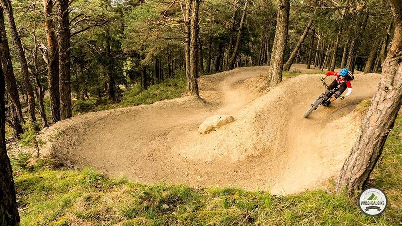 Nice berms in the lower part